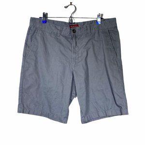 Merona Light Gray Casual Flat Shorts 36